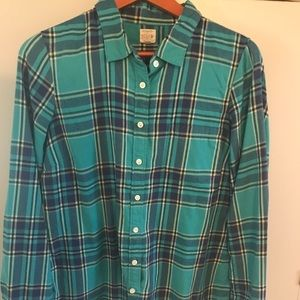 J Crew flannel button down the perfect shirt